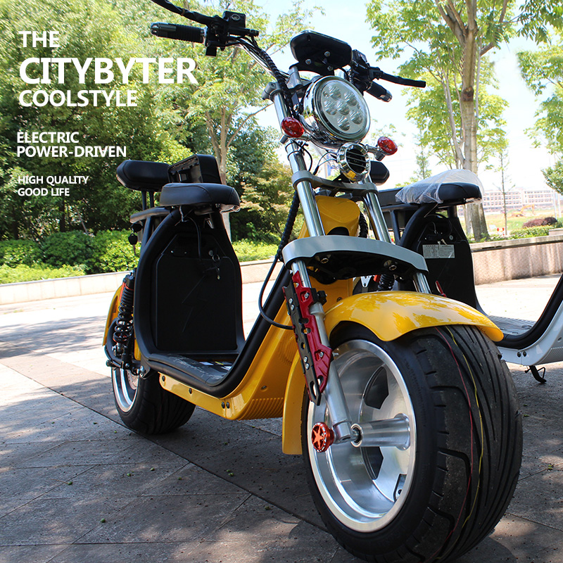 Электрический внедорожный мотоцикл Laboer Electric citycoco